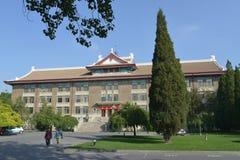 Η πανεπιστημιούπολη του πανεπιστημίου Tianjin Στοκ φωτογραφία με δικαίωμα ελεύθερης χρήσης
