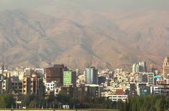 Η πανοραμική άποψη της Τεχεράνης, Ιράν Στοκ Εικόνα