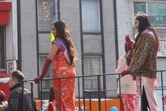 Η παρέλαση 158 έτους του 2015 κινεζική σεληνιακή νέα Στοκ Εικόνες