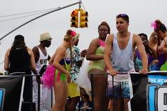 Η παρέλαση 16 γοργόνων του 2015 στοκ εικόνα