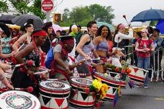 Η παρέλαση 37 γοργόνων του 2015 στοκ φωτογραφίες με δικαίωμα ελεύθερης χρήσης