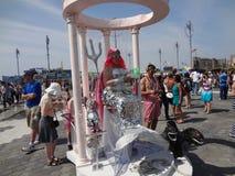Η παρέλαση 153 γοργόνων Coney Island του 2013 στοκ φωτογραφίες με δικαίωμα ελεύθερης χρήσης