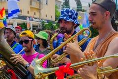 11η παρέλαση υπερηφάνειας της Χάιφα, 2017 στοκ εικόνες με δικαίωμα ελεύθερης χρήσης