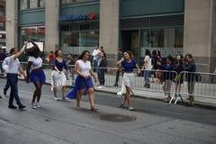 Η παρέλαση 16 χορού 2015 NYC Στοκ Φωτογραφία
