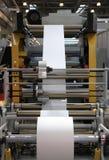 Η παραγωγή των πλαστικών συσκευασιών Στοκ Φωτογραφίες
