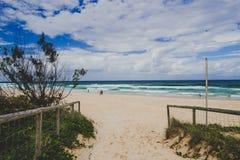 Η παραλία και το τοπίο στον παράδεισο Surfers στο Gold Coast στοκ φωτογραφία με δικαίωμα ελεύθερης χρήσης