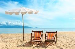 η παραλία προεδρεύει κο&nu Στοκ εικόνα με δικαίωμα ελεύθερης χρήσης