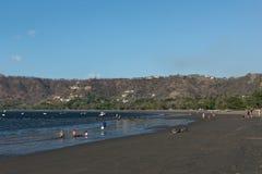 Η παραλία Playas de Coco στη παράλια Ειρηνικού της Κόστα Ρίκα Στοκ Φωτογραφίες