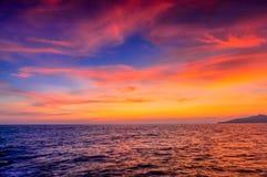 Η παραλία στο ηλιοβασίλεμα στοκ φωτογραφίες με δικαίωμα ελεύθερης χρήσης