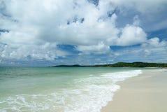 Η παραλία στο νησί Samed στην Ταϊλάνδη στοκ φωτογραφία