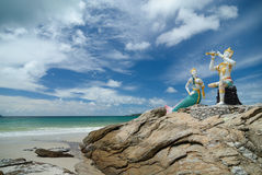 Η παραλία στο νησί Samed στην Ταϊλάνδη στοκ φωτογραφίες