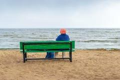 Η παραλία της θάλασσας της Βαλτικής σε Repino κοντά στη Αγία Πετρούπολη Στοκ εικόνες με δικαίωμα ελεύθερης χρήσης