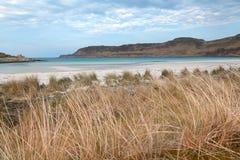 Η παραλία του Κάλγκαρι, θερμαίνει, Σκωτία Στοκ Φωτογραφία