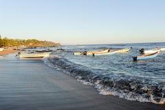 Η παραλία του Los Cobanos Στοκ Φωτογραφίες