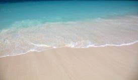 η παραλία χαλαρώνει Στοκ Εικόνες