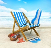 η παραλία ελεύθερη απεικόνιση δικαιώματος