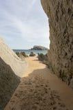 Η παραλία Arnia Στοκ Εικόνα