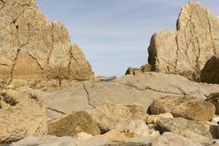 Η παραλία Arnia Στοκ Φωτογραφίες