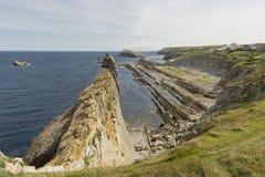 Η παραλία Arnia Στοκ φωτογραφία με δικαίωμα ελεύθερης χρήσης