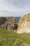 Η παραλία Arnia Στοκ εικόνες με δικαίωμα ελεύθερης χρήσης