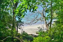 Η παραλία BLANCA Playa στη χερσόνησο Papagayo, Κόστα Ρίκα Στοκ φωτογραφία με δικαίωμα ελεύθερης χρήσης
