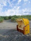 Η παραλία Juist Στοκ εικόνες με δικαίωμα ελεύθερης χρήσης