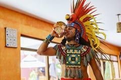 Η παραδοσιακή απόδοση έντυσε επάνω σε Ινδό Στοκ Εικόνες