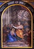 Η παρουσίαση του Ιησού στο ναό Στοκ Εικόνα