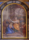 Η παρουσίαση του Ιησού στο ναό Στοκ φωτογραφίες με δικαίωμα ελεύθερης χρήσης