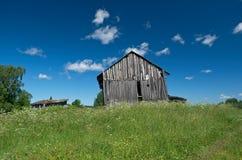 Η παλαιά αγροικία Στοκ Εικόνες