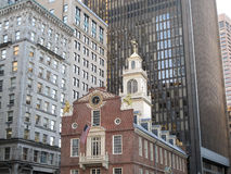Η παλαιά Βουλή στη Βοστώνη, μΑ στοκ εικόνα