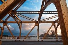 Η παλαιά γέφυρα του Σακραμέντο Στοκ Φωτογραφίες
