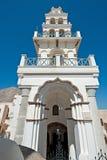 Η παλαιά εκκλησία Emporio, Santorini, Ελλάδα Στοκ Εικόνες