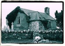 Η παλαιά ιρλανδική εκκλησία Στοκ Φωτογραφία