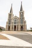 Η παλαιά καθολική εκκλησία Στοκ φωτογραφία με δικαίωμα ελεύθερης χρήσης
