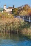 Η παλαιά μεσαιωνική πόλη Rapperswil, λίμνη Ζυρίχη, Ελβετία Στοκ φωτογραφίες με δικαίωμα ελεύθερης χρήσης