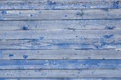 Η παλαιά μπλε ξύλινη σύσταση Στοκ φωτογραφία με δικαίωμα ελεύθερης χρήσης