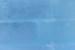 Η παλαιά μπλε ραγισμένη κινηματογράφηση σε πρώτο πλάνο σύστασης πάγου Στοκ φωτογραφίες με δικαίωμα ελεύθερης χρήσης