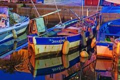 Η παλαιά ξύλινη βάρκα στοκ εικόνα