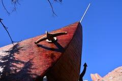 Η παλαιά ξύλινη βάρκα Στοκ Φωτογραφίες
