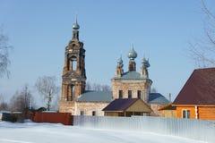 Η παλαιά Ορθόδοξη Εκκλησία Στοκ φωτογραφία με δικαίωμα ελεύθερης χρήσης