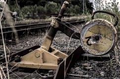 Η παλαιά περιοχή σιδηροδρόμων Στοκ εικόνα με δικαίωμα ελεύθερης χρήσης