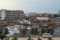 Η παλαιά περιοχή Hutong Datong Στοκ Φωτογραφία