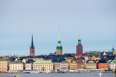 Η παλαιά πόλη της Στοκχόλμης Στοκ Εικόνα