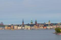 Η παλαιά πόλη της Στοκχόλμης Στοκ Φωτογραφία
