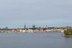 Η παλαιά πόλη της Στοκχόλμης Στοκ Εικόνες