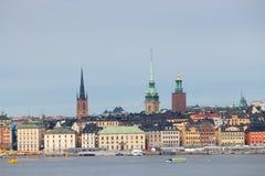 Η παλαιά πόλη της Στοκχόλμης Στοκ φωτογραφία με δικαίωμα ελεύθερης χρήσης