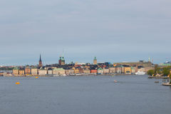 Η παλαιά πόλη της Στοκχόλμης Στοκ φωτογραφίες με δικαίωμα ελεύθερης χρήσης