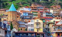 Η παλαιά πόλη του Tbilisi, Γεωργία στοκ εικόνα