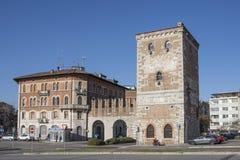 Η παλαιά πύλη πόλεων ` Aquileia ` Udine Στοκ Εικόνες